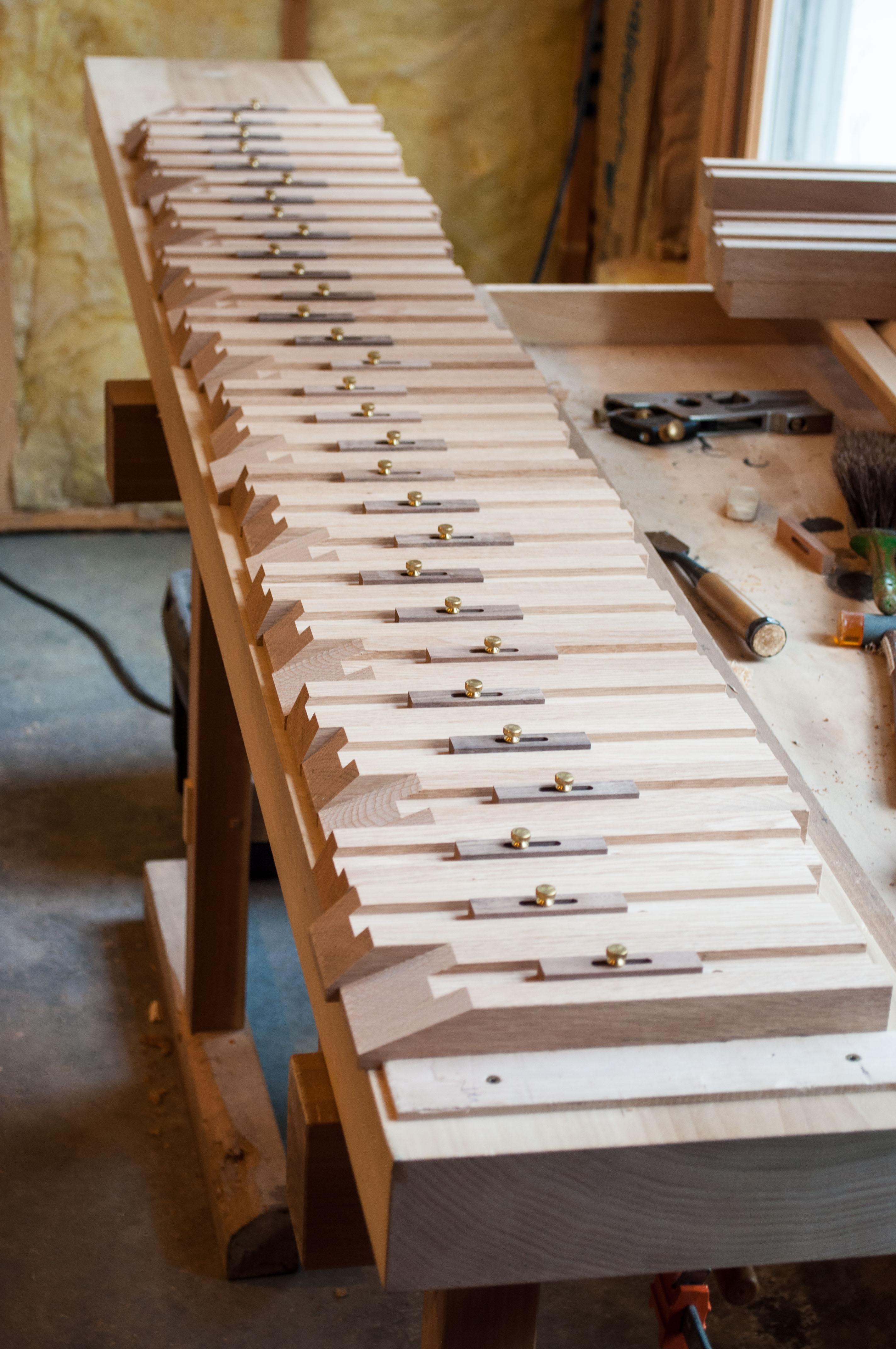 Kumiko Jigs Hardwood Jigs With Adjustable Stops